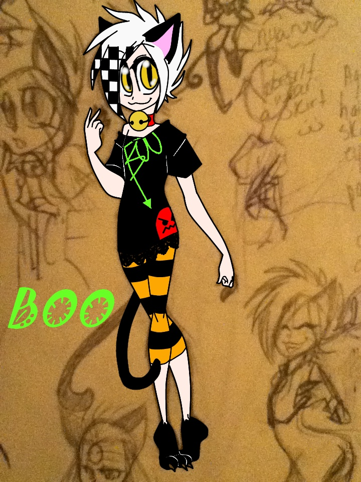 Boo, one of my many OCs by ocmaker101