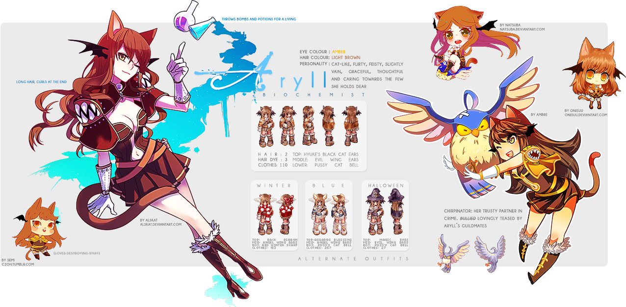 Aryll: Reference Sheet