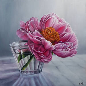 Bloom in a glass