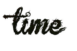 Time Typography in Colour by TRBowl