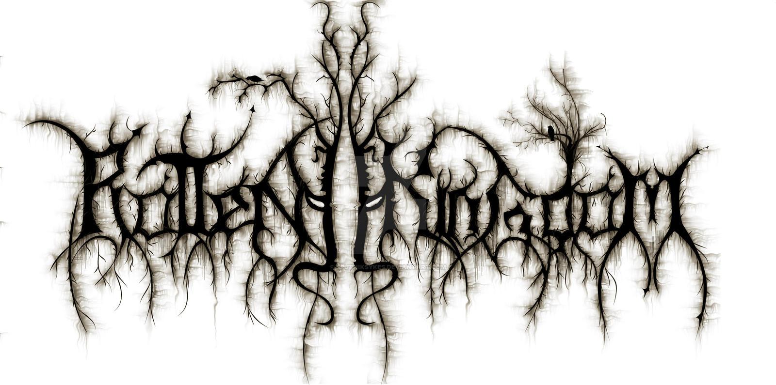 deathcore logo by sputniksykes on deviantart