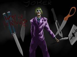Joker, The Mastermind by Seastar52