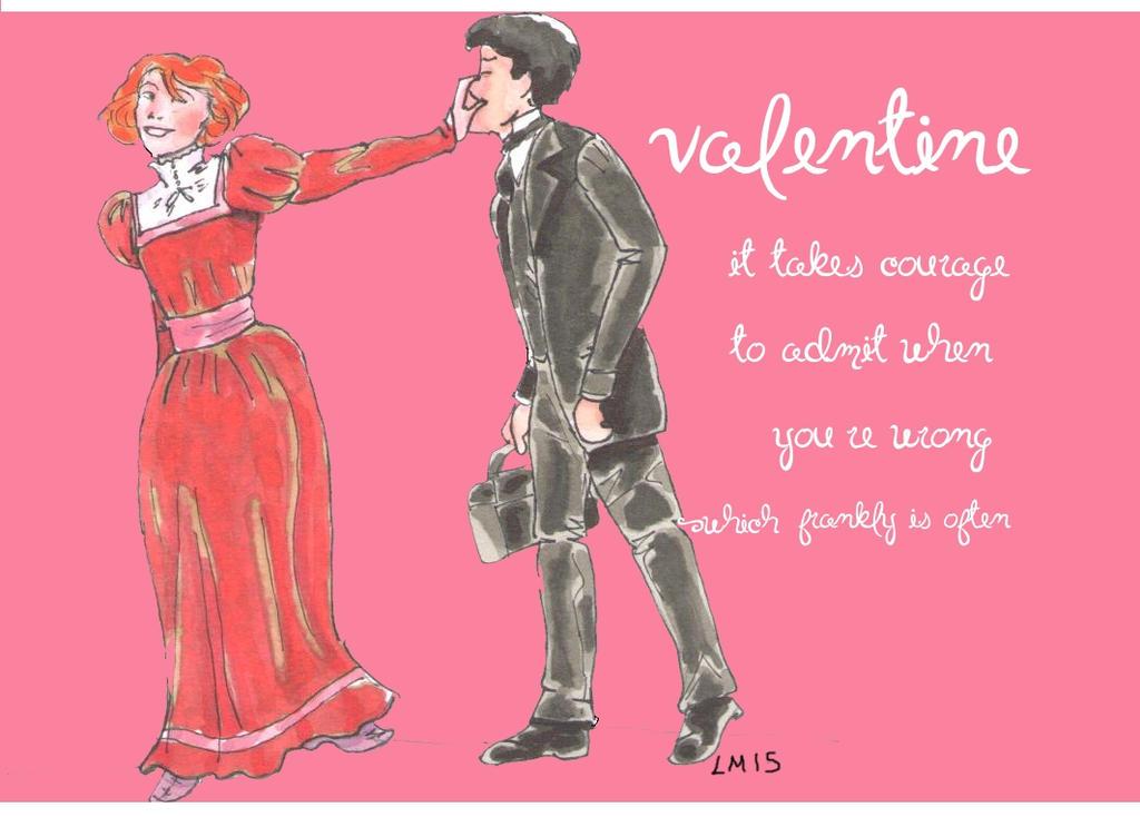 Valentine 2015 2/6 by theterriblezodin