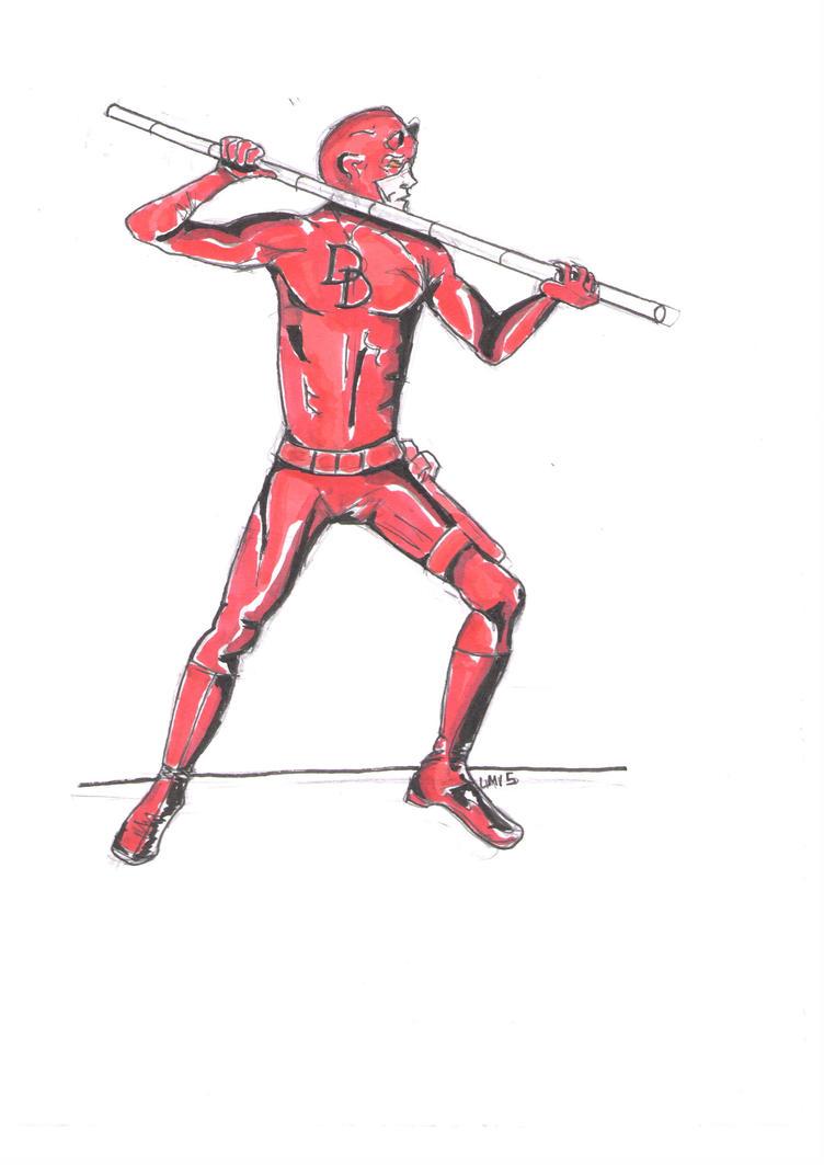 Daredevil by theterriblezodin