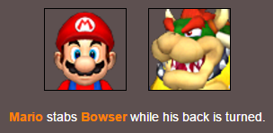 Defeating Bowser Once Again by birdietalk
