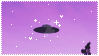 + UFO stamp + by coughii