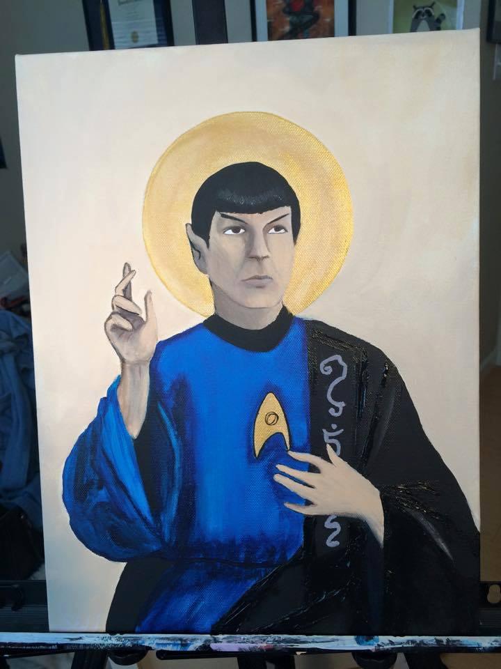 Spock Jesus by rangerbagel