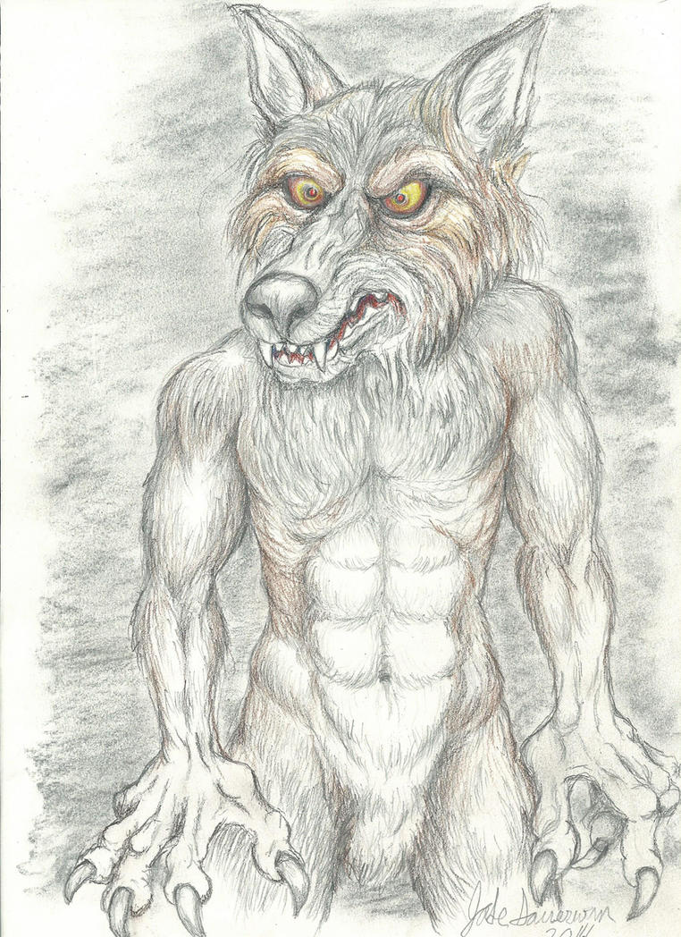 Gimeno The Werewolf by NevadaCoyotle