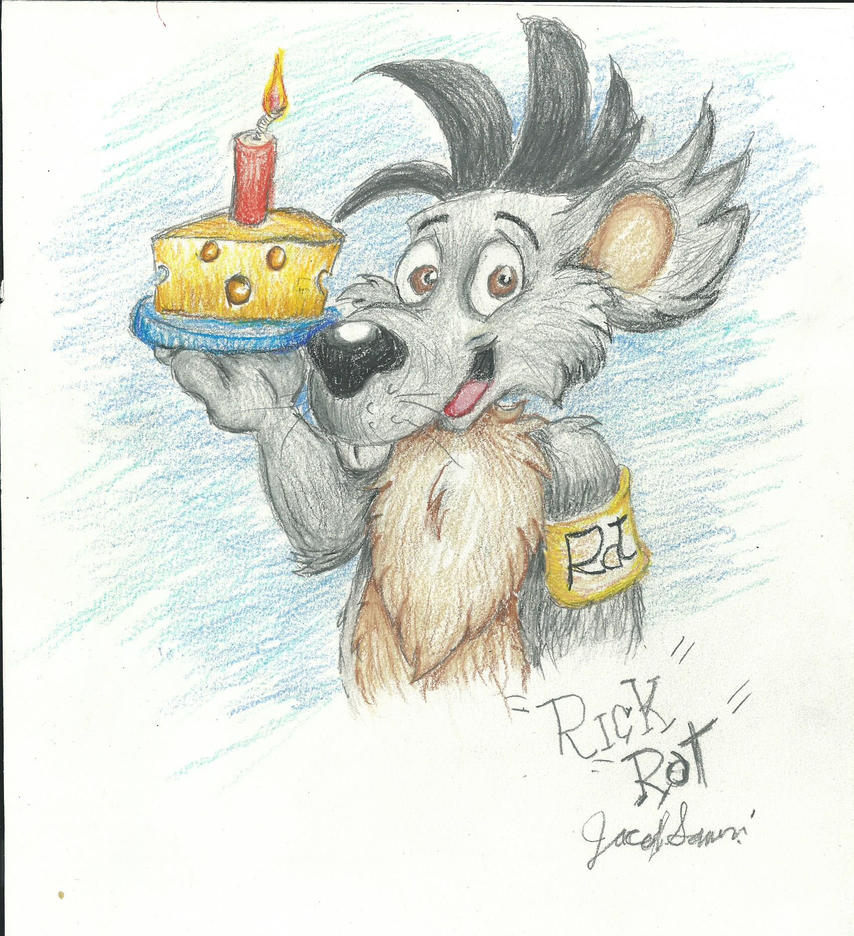 Rick Rat Happy Birthday  RatteMacchiato! by NevadaCoyotle
