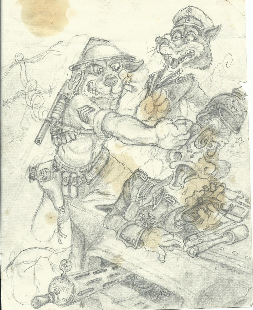 1917 Hello Jawbreaker!!!! by Nayikee