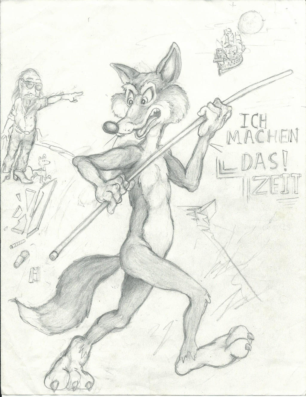 Run Foxy Run! by Nayikee