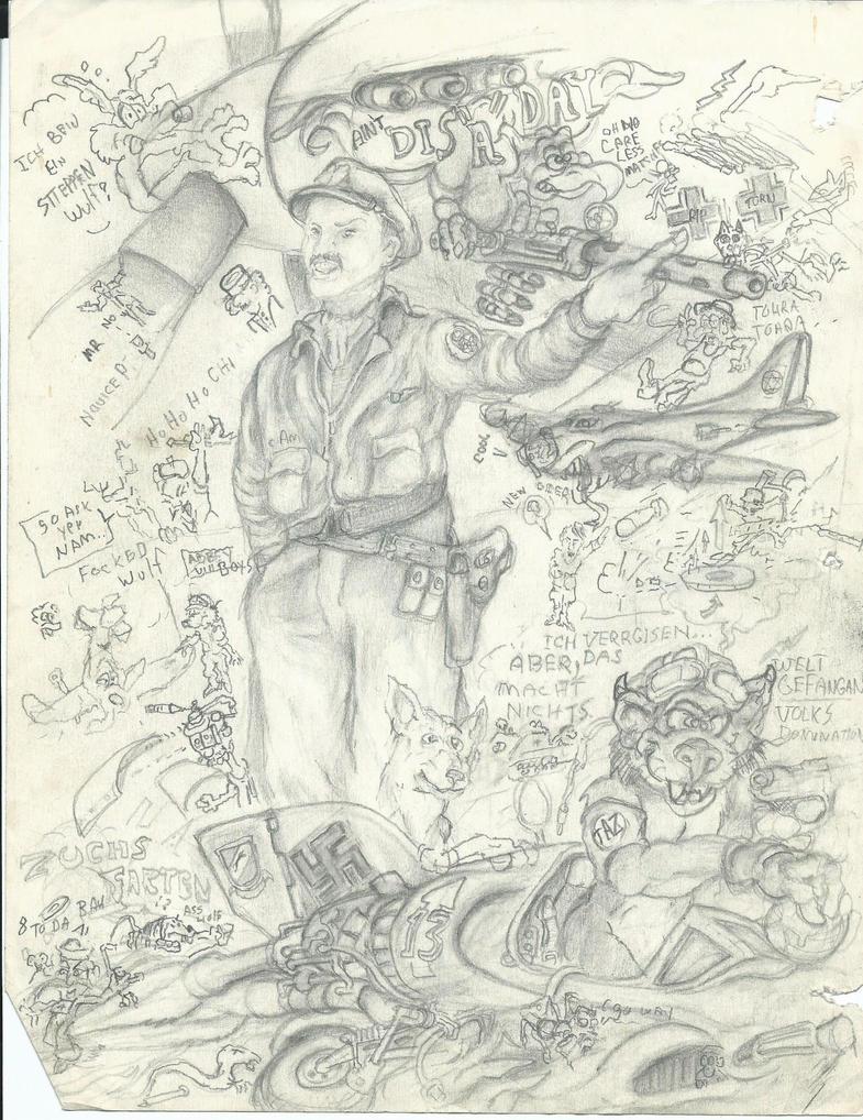 WEIRD WAR 2 by CosmoCoyote