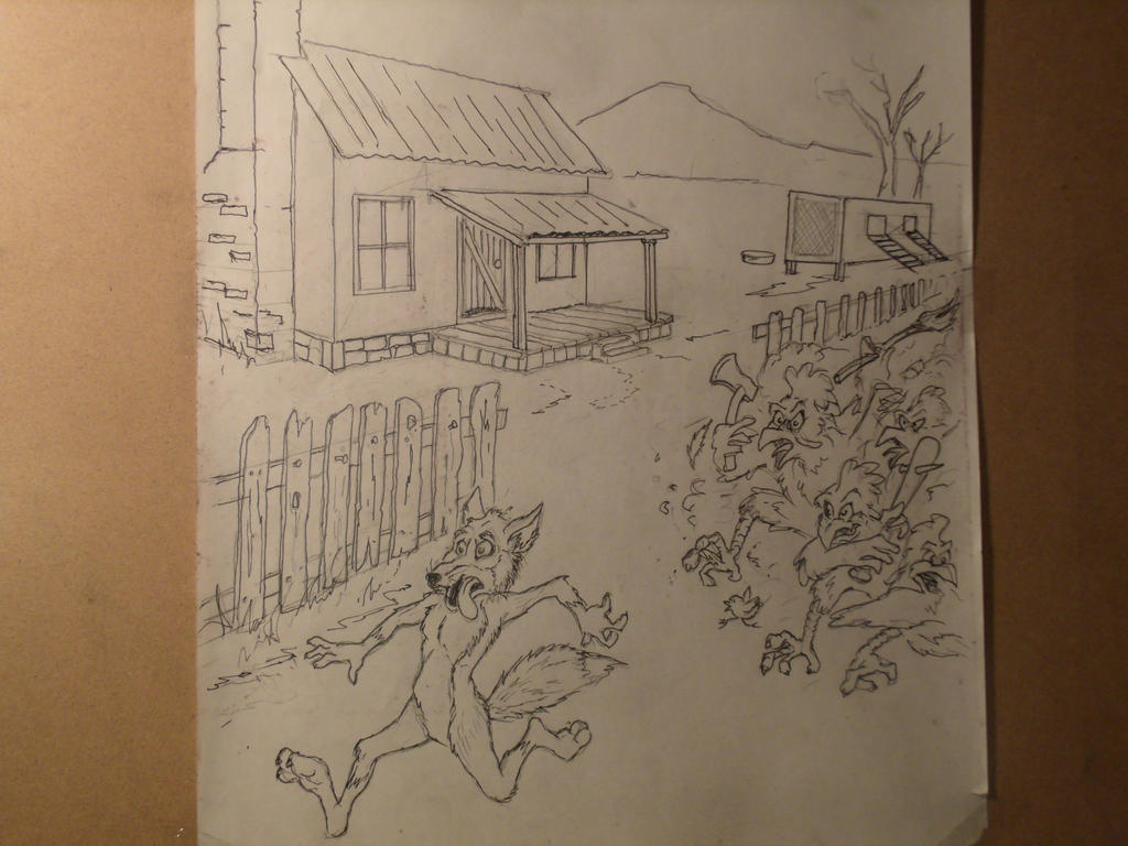 Chicken's Run by Nayikee