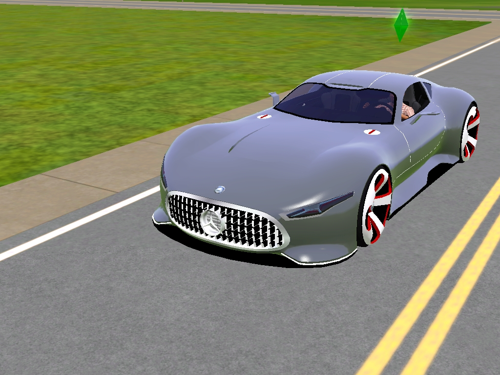 Sims 3 mercedes benz amg vision gran turismo by dailycard for Mercedes benz amg vision