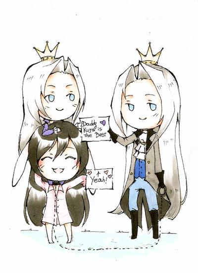 Daddy Kuja is the Best by SweetPoison-Bunny