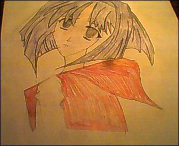 Chibi Vampire Karin Colored by ChibiVampireFan68493