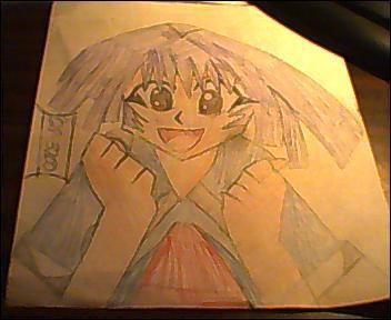 Chibi Vampire Karin 2 Colored by ChibiVampireFan68493