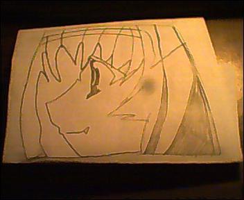 Chibi Vampire Karin's Head by ChibiVampireFan68493