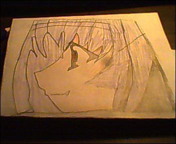 Chibi Vampire Karin Head Color by ChibiVampireFan68493