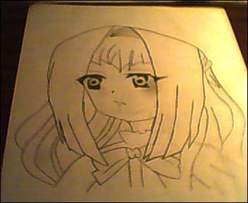 Chibi Vampire Anju Line Work by ChibiVampireFan68493