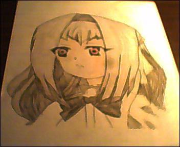 Chibi Vampire Anju Colored by ChibiVampireFan68493