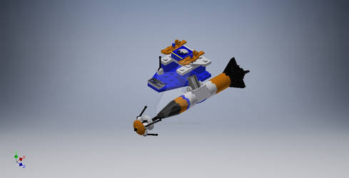 Sled Rocket Satellite