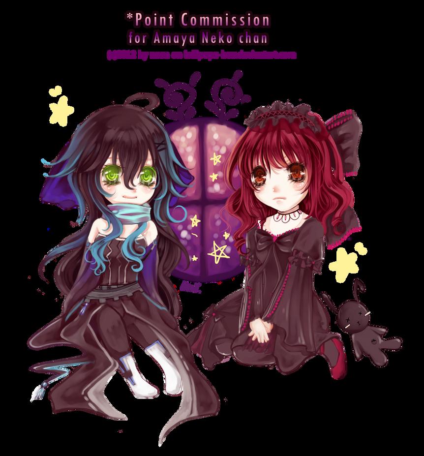 Point Commish : Amaya neko chan II by lollipopz-box