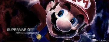 Super Mario Sign.