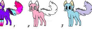 More Free Adoptables Kittens + read description