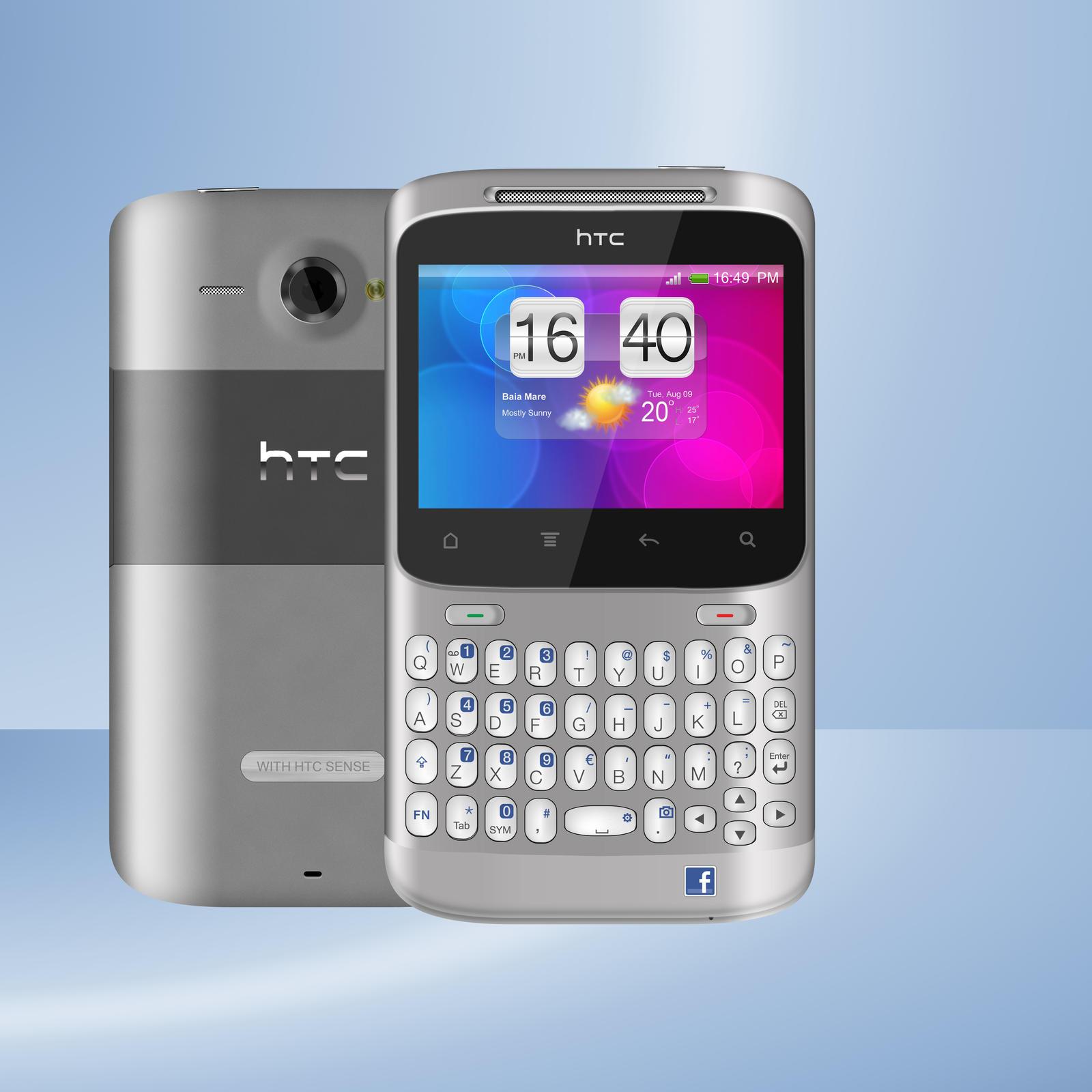 HTC Cha Cha by madalincmc