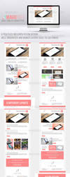 Magicpixels Newsletter PSD Template by madalincmc