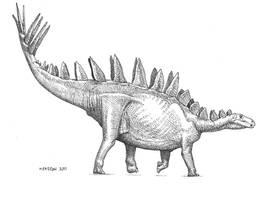 Tuojiangosaurus by pheaston