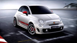 Fiat 500 Abarth Painted