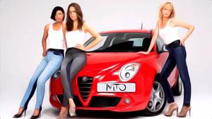 Alfa Romeo Mito Painted