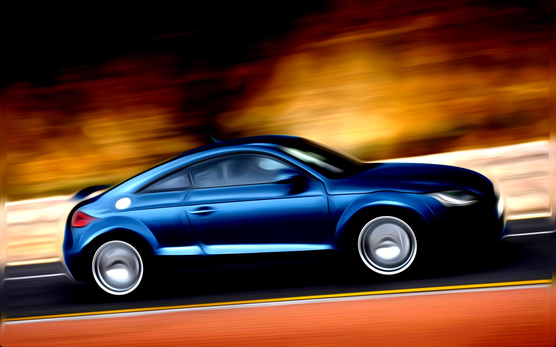 Audi TT Painted