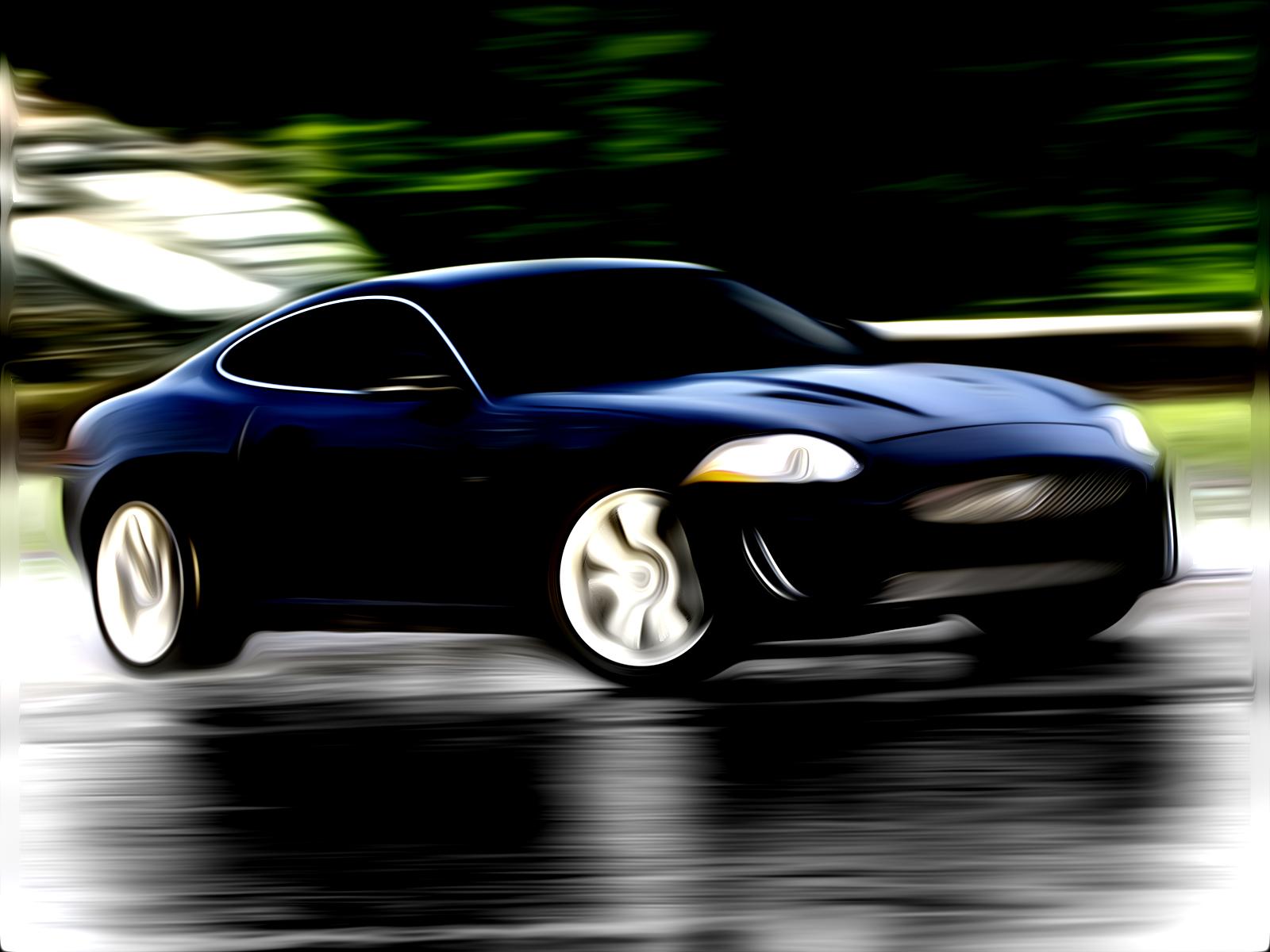 Jaguar XKR Painted