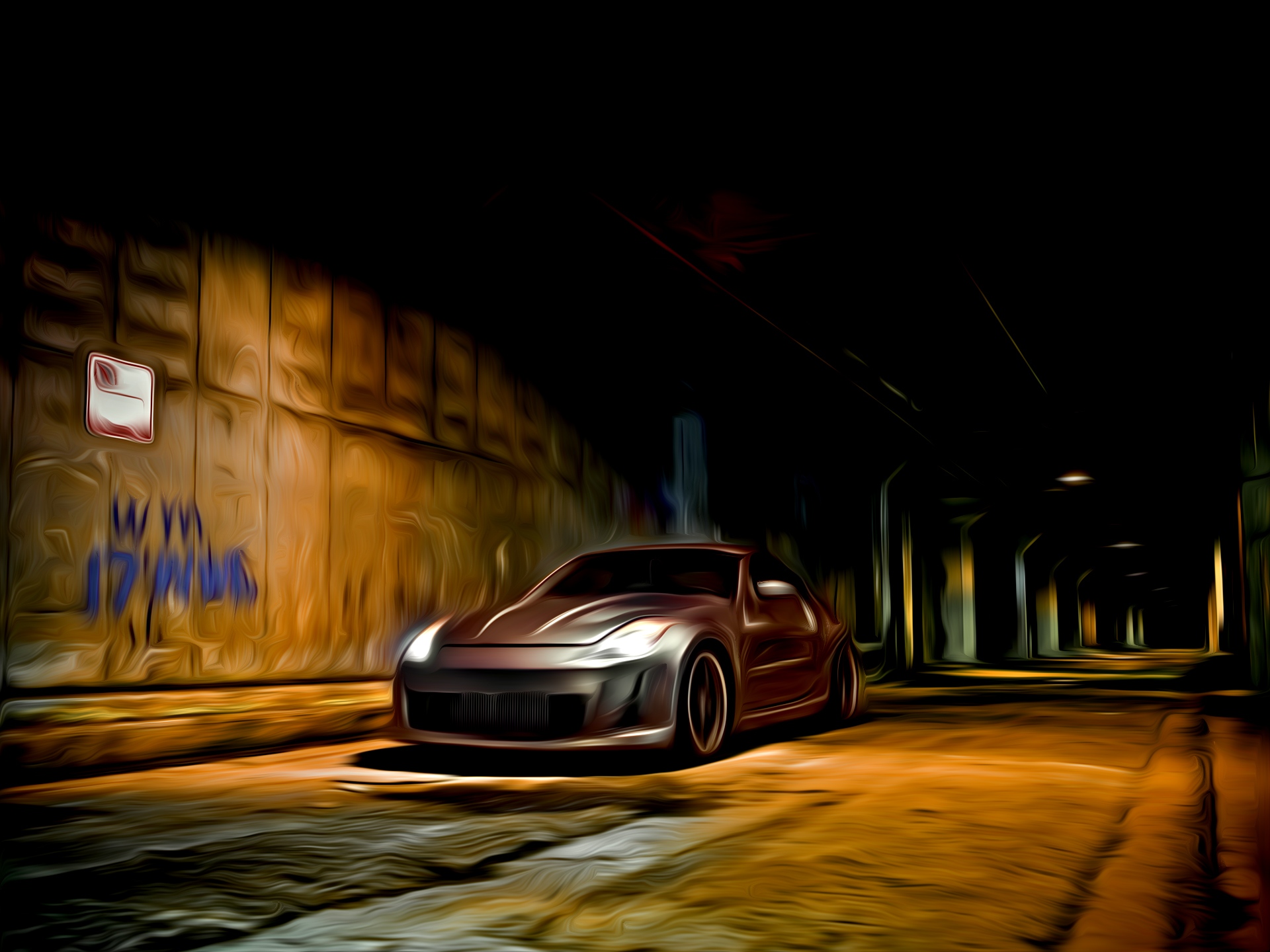 Nissan 350Z Painted