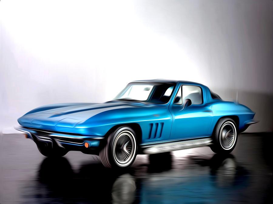Chevrolet Stingray Painted