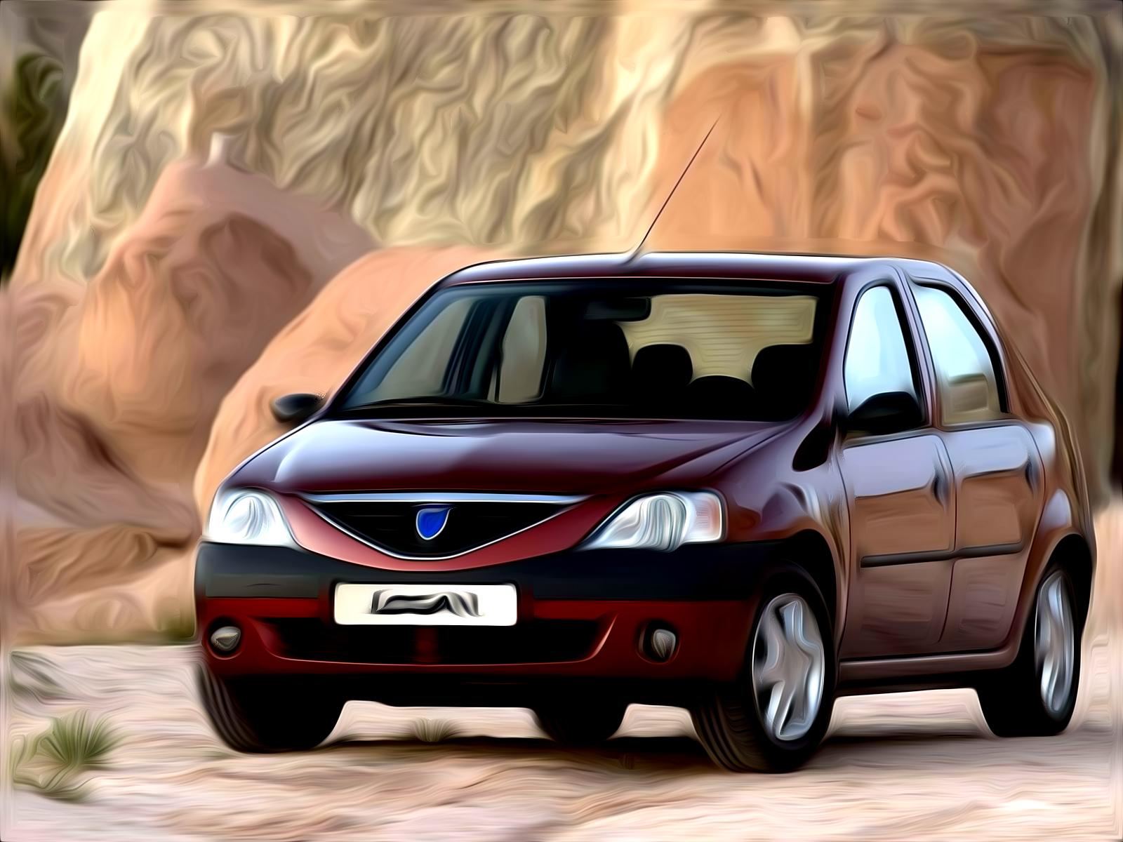 Dacia Logan Painted