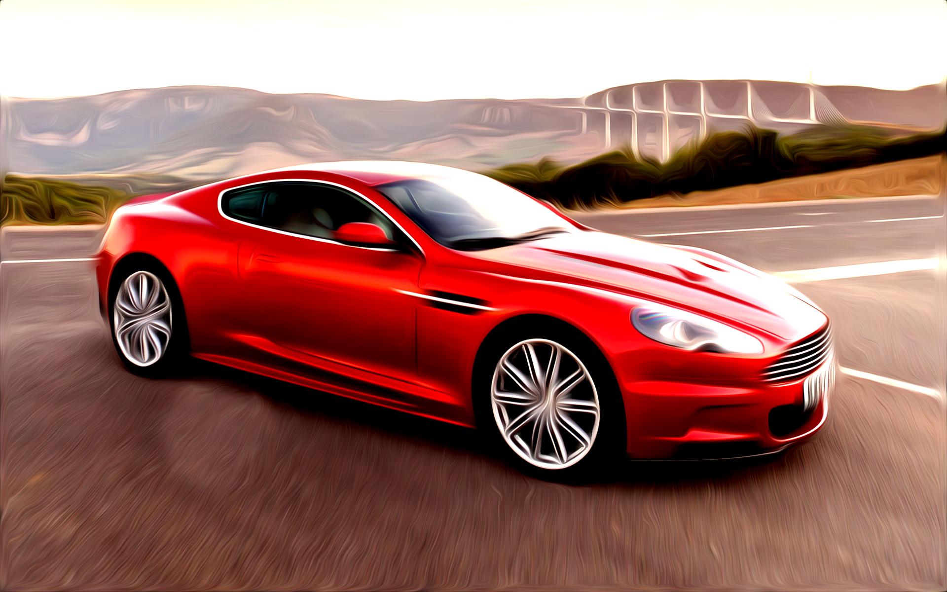 Aston Martin Painted