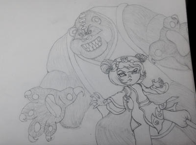 Annie and Tibbers! by Tyappert