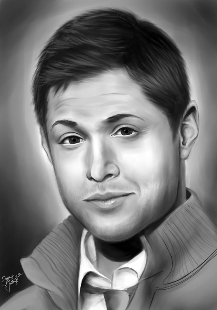 Jensen Ackles Sketch J...