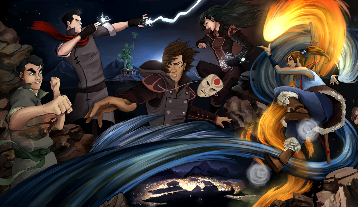 The Legend of Korra by dacadaca