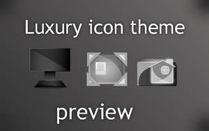Luxury icon theme preview by Enrix835