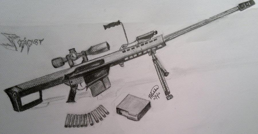 barrett 50 caliber sniper rifle golfclub