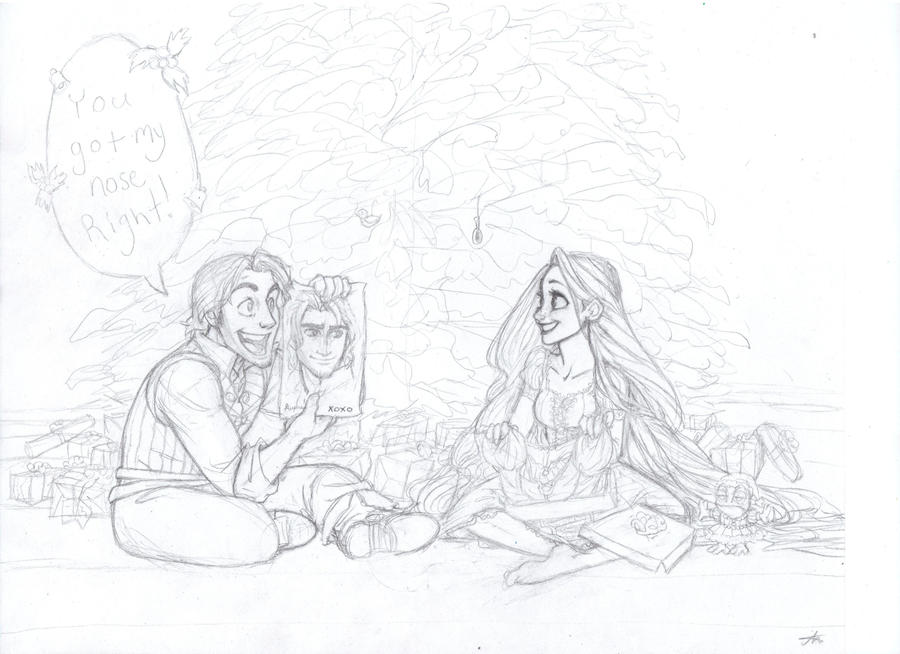 Tangled Christmas - Unfinished by AlexandriaMonik