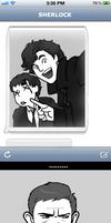 Sherlock Selfie by AlexandriaMonik