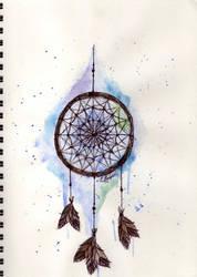 Dreamcatcher by JamieHodgsonArt
