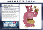 Sanfr and Kim Character Card