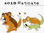 Raticate - Johto Dex